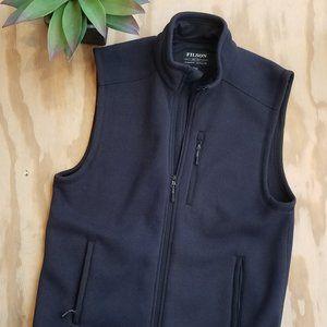 Filson Dark Navy Ridgeway Fleece Vest